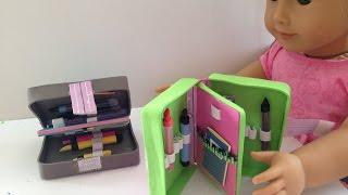 getlinkyoutube.com-DIY AG American Girl Doll Pencil Case