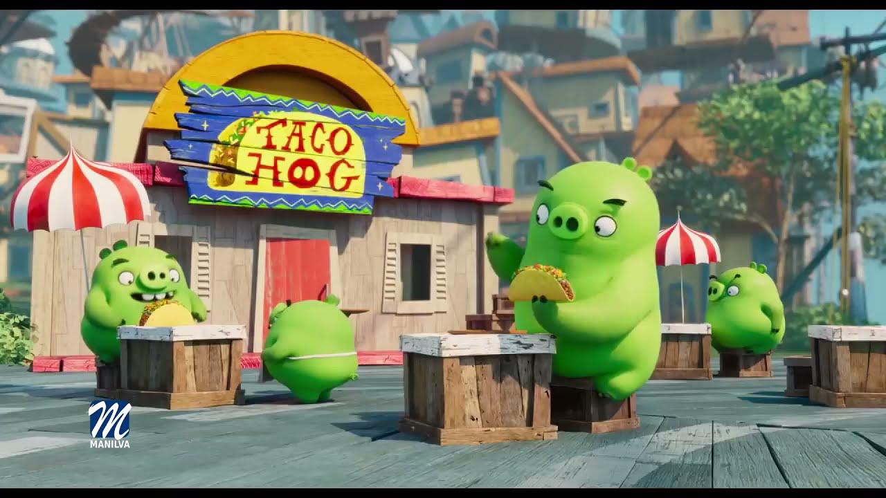 Mañana se proyectará la cinta 'Angry Birds 2: La película'