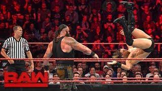 Braun Strowman vs. The Miz: Raw, Nov. 6, 2017