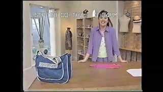 getlinkyoutube.com-Puntos y Puntadas 76. Bolso de Jean azul. Liliana Villordo.