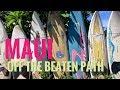 Central Maui: Geste's Shrimp Truck, funky Paia town, Baldwin Beach