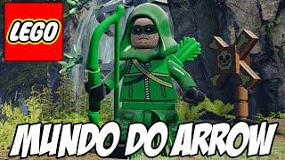 getlinkyoutube.com-Lego Batman 3 - Mundo da série ARROW do Arqueiro Verde