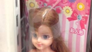 getlinkyoutube.com-100円ショップのエリーちゃん【100円ショップグッズ】Ellie-chan looks like Barbie 100 yen shop