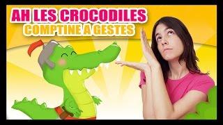 getlinkyoutube.com-Ah les crocodiles - Comptines à gestes pour bébés - Titounis