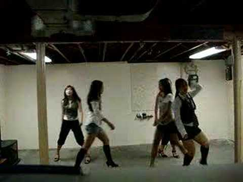 wondergirls-irony practice for performance(not perfect)