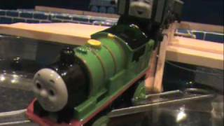getlinkyoutube.com-The Wooden Railway Series: Percy Takes the Plunge