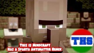 getlinkyoutube.com-(Sparta Duel)[Villager News]This is Minecraft Has a Sparta Antimatter Remix
