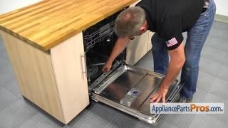 getlinkyoutube.com-Dishwasher Lower Door Seal (part #WPW10497235) - How To Replace