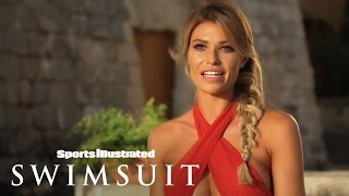 getlinkyoutube.com-Samantha Hoopes's Funny (And Gorgeous) Outtakes | Sports Illustrated Swimsuit 2016
