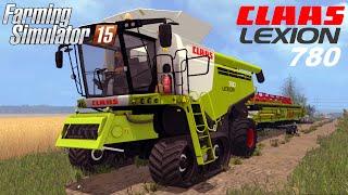 getlinkyoutube.com-Farming Simulator 2015 mod harvester CLAAS LEXION 780