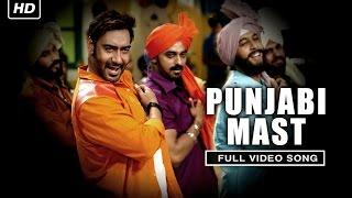 getlinkyoutube.com-Punjabi Mast (Uncut Video Song) | Action Jackson | Ajay Devgn & Sonakshi Sinha