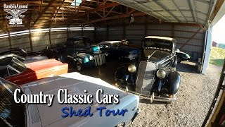 getlinkyoutube.com-Hot Rods, Muscle Cars, & Classics - Shed Tour - Country Classic Cars