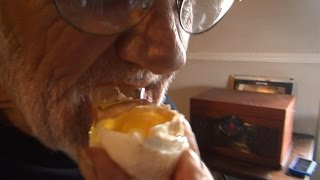 getlinkyoutube.com-CHOCOLATE COVERED RAW EGG PRANK 2