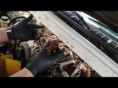1996 GMC Sonoma or Chevrolet s10 4.3 thermostat replacement