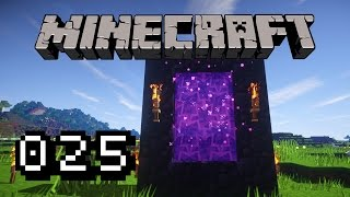 EIN LEBEN AM LIMIT - Let's Play Minecraft #025 [60FPS]