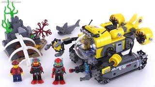 getlinkyoutube.com-LEGO City Deep Sea Submarine review! set 60092