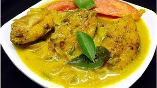 getlinkyoutube.com-Fish Molly / Meen Moilee popular Kerala fish preparation