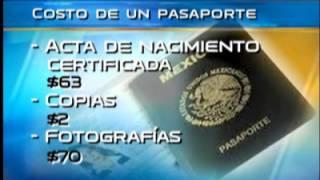 Tramitar el pasaporte cuesta hasta $ 1,795 pesos