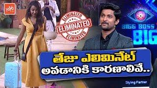 Bigg Boss 2 Telugu - Reasons For Tejaswi Elimination | Samrat Saved by Tanish | Hero Nani | YOYO TV width=