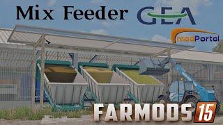 getlinkyoutube.com-Farming simulator 15 | Test GEA Mixffeeder (Robot distributrice) | Farmods 15 #14