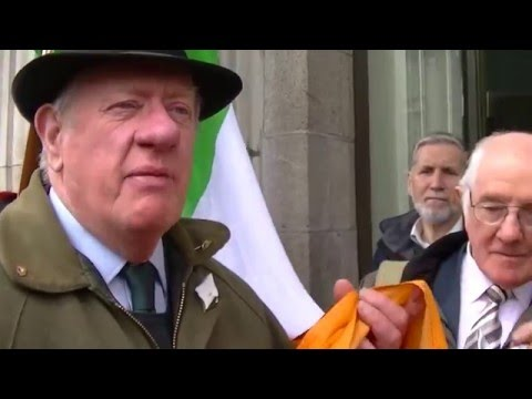 IRB outside GPO Dublin on the 24th of April, 2016