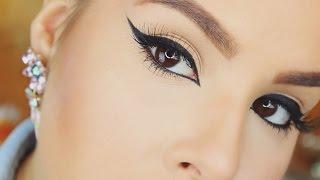 getlinkyoutube.com-How To: Winged Eyeliner For Beginners