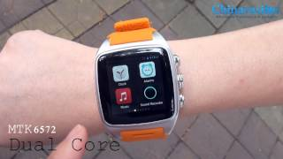 getlinkyoutube.com-iMacwear SPARTA M7 Smart Watch Phone