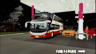 RILIS BUS DOUBLE DECKER HARAPAN JAYA - ETS2 BUS MOD INDONESIA