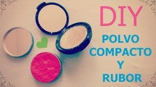 getlinkyoutube.com-Haz tu propio maquillaje: POLVO Y RUBOR.♥