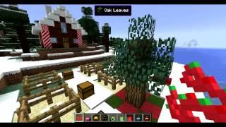 getlinkyoutube.com-LE PERE NOËL VIENT TE DONNER DES CADEAUX ! - MOD Wintercraft Christmas Minecraft [FR] [HD]