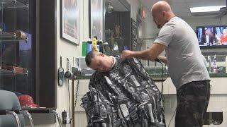 getlinkyoutube.com-Sleeping Haircut PRANK