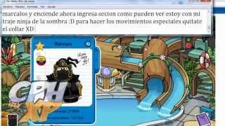getlinkyoutube.com-Ser Ninja de Sombra en Club Penguin Real || CPHxP|| Hackear es Malo hazlo bajo tu responsabilidad