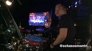Echa Soemantri - Maria - Kecewa (Bunga Citra Lestari) Indonesian Idol 2018 - #ESdrumcam