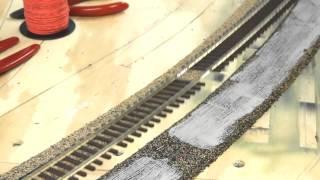 getlinkyoutube.com-ME flex track laying tips | getting good trackwork | Model Railroad Hobbyist | MRH