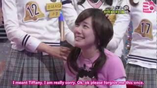 getlinkyoutube.com-SNSD - Tiffany is ticklish (ENG SUBS HD)
