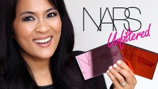 getlinkyoutube.com-The NARS Unfiltered I and Unfiltered II Cheek Palettes