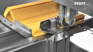 getlinkyoutube.com-PFAFF 8317 Ultrasonic welding unit for pleated filters (HD)