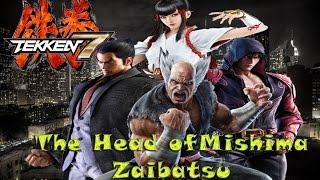 getlinkyoutube.com-Tekken 7 Theory:The Head of Mishima Zaibatsu of Tekken 7 (Winner of Tekken 6)