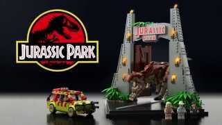 getlinkyoutube.com-Lego Jurassic Park project on LEGO Ideas
