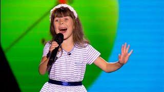 """getlinkyoutube.com-Анна Комякова """"Smile"""" - Голос. Дети - Выбор вслепую - Сезон 2"""