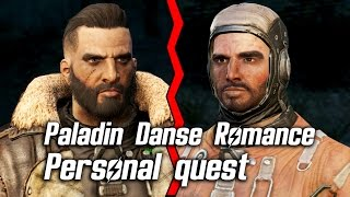 getlinkyoutube.com-Fallout 4 - Paladin Danse Romance - Personal Quest *SPOILERS*