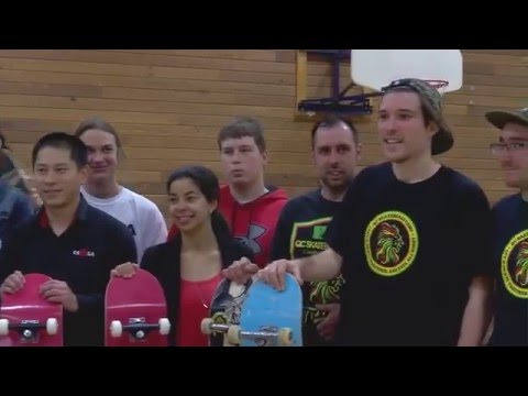 Un skatepark intérieur pour les élèves de l'ESMSA