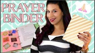 getlinkyoutube.com-HOW TO SET UP AND USE A PRAYER BINDER  || PRAYER JOURNAL/NOTEBOOK || LIFE AS A TWIN MOM