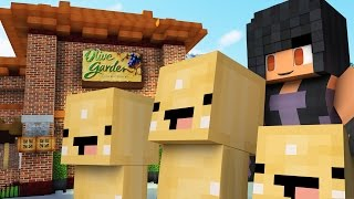 getlinkyoutube.com-Olive Garden Hide and Seek | Bread Stick Minions!