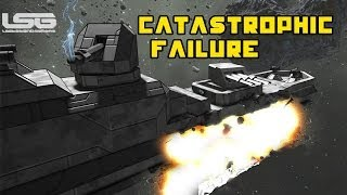 getlinkyoutube.com-Space Engineers - Catastrophic Failure B Class Frigate,Torpedos Turrets & Problems  Part 28