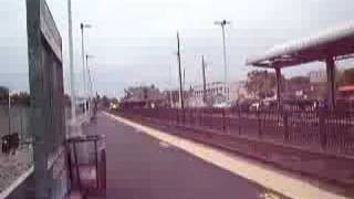 getlinkyoutube.com-MBTA Commuter Rail arriving at Framingham, MA