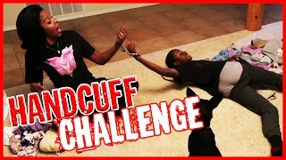 HANDCUFFED TO ANNOYING LITTLE BROTHER! - The Handcuff Challenge