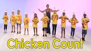 getlinkyoutube.com-Count to 10 | Chicken Count | Count to 10 Song | Counting to 10 | Mary Jo Huff | Jack Hartmann