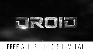 """getlinkyoutube.com-FREE After Effects Template """"Epic Trailer Titles"""""""