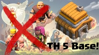 TH5 Base I Anti Giant Healer I Anti Giant Barch I Best TH5 Farming & War Base I After Update 2016